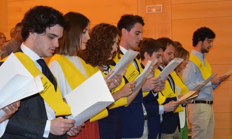 'Gaudeamos Igitur', se gradúan los alumnos de Medicina de la Universidad Europea y el Hospital Infanta Sofía