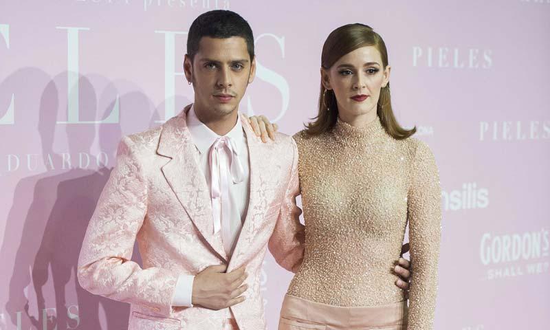 Madrid se tiñe de rosa en la presentación de 'Pieles'