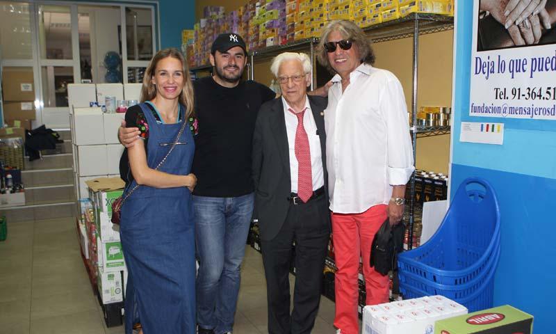 Emiliano Suárez, Carola Baleztena y José Mercé se implican con la fundación del Padre Ángel por los refugiados de Siria