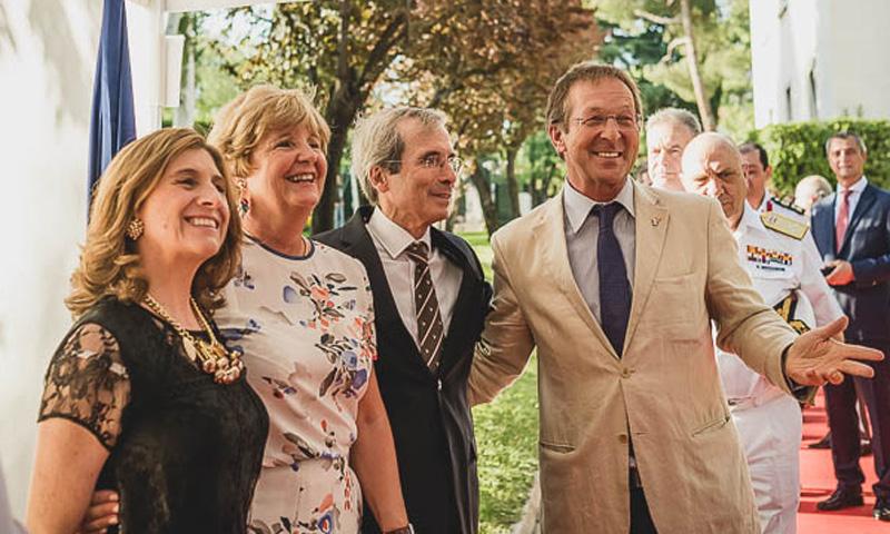La embajada francesa abre sus puertas para celebrar la Fiesta Nacional del 14 de julio