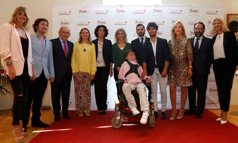 La III edición de Brindis Solidario dona 10.000 euros a la Fundación Andrés Marcio