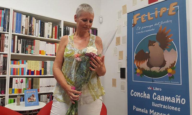 Presentación del cuento infantil 'Felipe, el príncipe del jardín', de Concha Caamaño