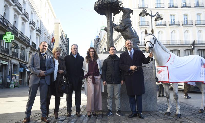 La quinta edición de 'Madrid Horse Week', presentada en la madrileña Puerta del Sol