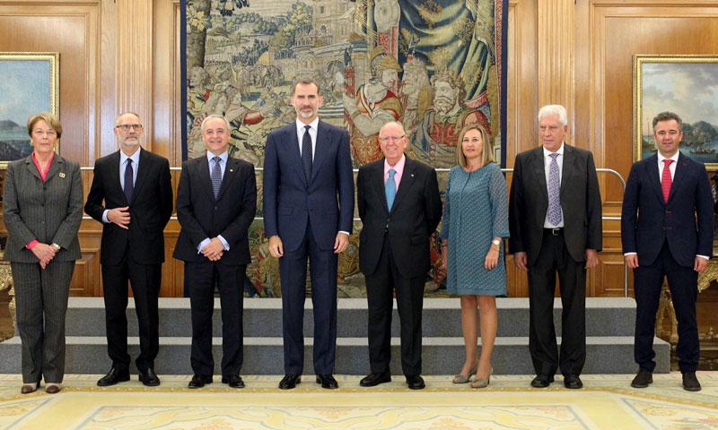 El rey Felipe VI recibe en audiencia a Aldeas Infantiles SOS