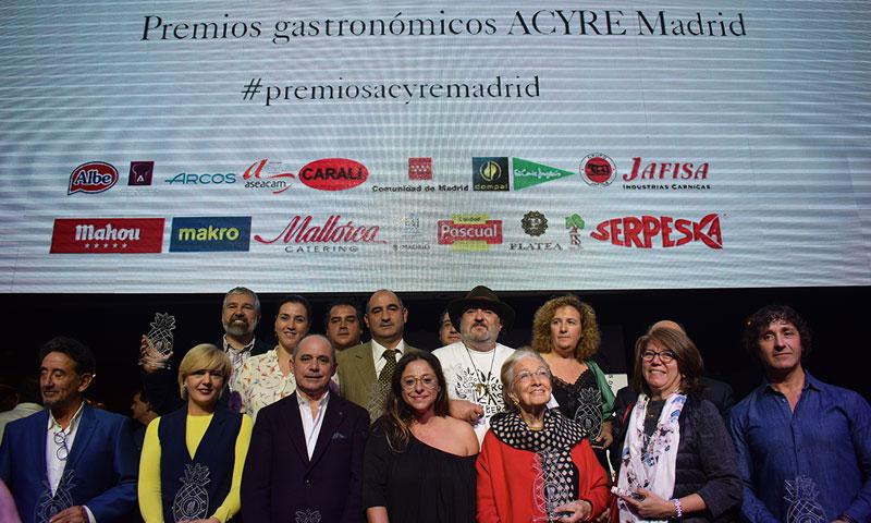 ACYRE Madrid continúa su apuesta por la gastronomía con la XLVI edición de sus premios