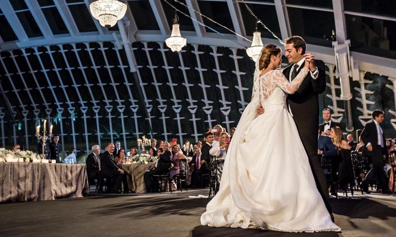 La espectacular boda de Sarah y Farah