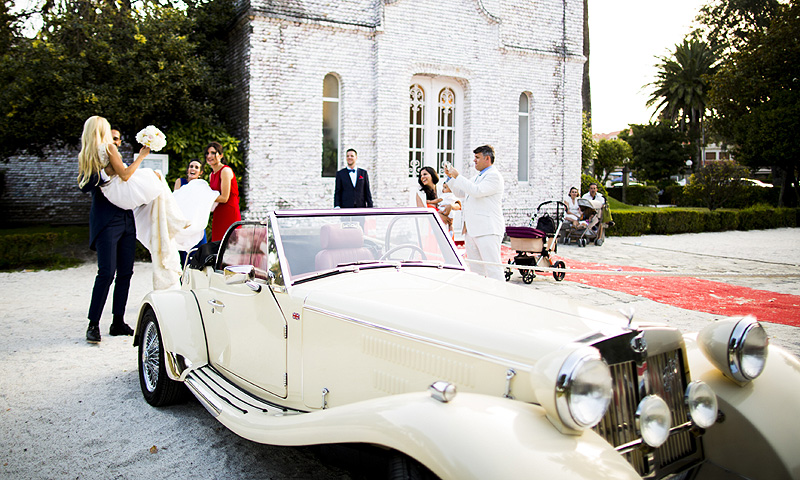 Eduardo y Paula, la boda celebrada gracias a los 'drones'