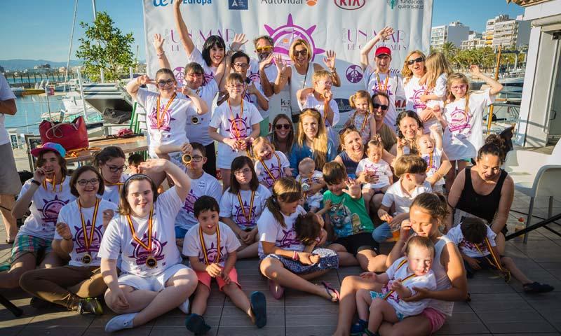 'Un mar de capacidades', la Fundación Irene Villa con los niños discapacitados