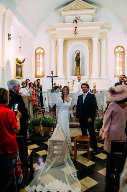 La boda de Margarita y Eduardo en la isla que vio nacer su amor, Formentera