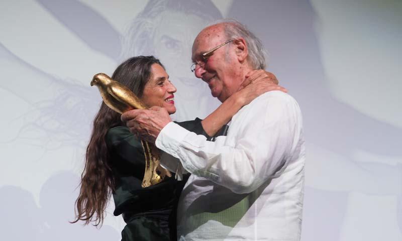 Ángela Molina premiada en el 'Ibiza Film Festival'