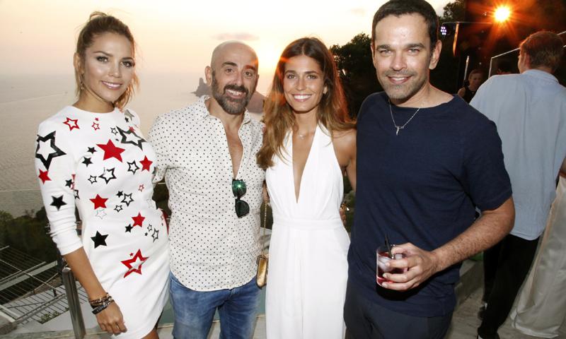 'Baño' de glamour en la exclusiva fiesta de Emporio Armani en Ibiza