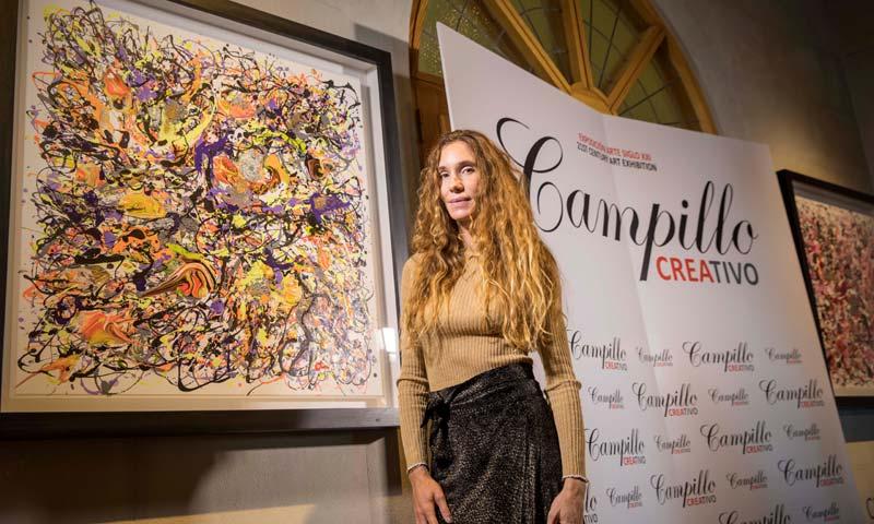 Blanca Cuesta expone su arte en 'Campillo Creativo. Sueños del siglo XXI'