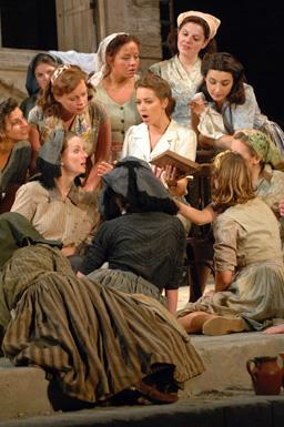 Picnic de gala en el festival de ópera de Glyndebourne