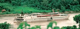 Road to Mandalay, la 'vieja dama' vuelve a navegar