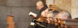 ¿Quieres escuchar canto gregoriano en directo?