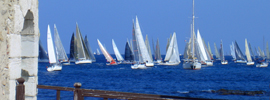 En Saint-Tropez con la élite de la vela