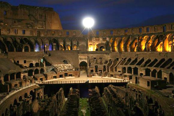 'Noches Flavias' en el Coliseo de Roma