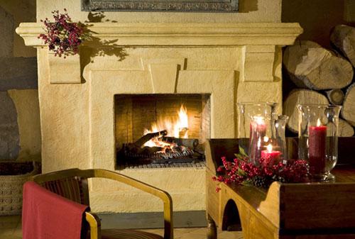 Hoteles con chimenea for Hoteles con chimenea