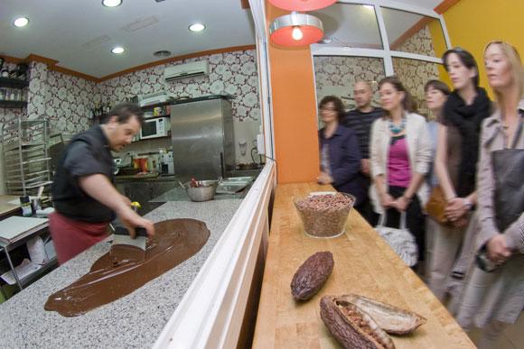 Chocotour por Zaragoza