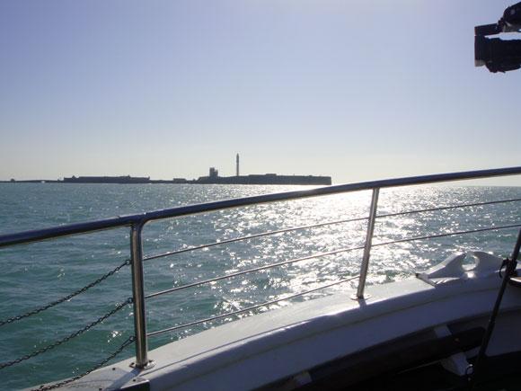 Cádiz desde el agua