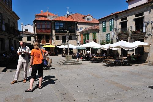 Pontevedra, de plaza en plaza