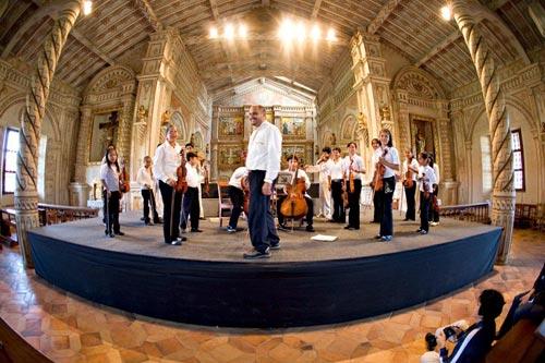 Acordes barrocos en la selva boliviana