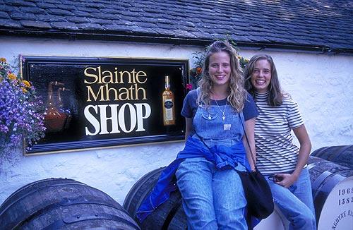Festival del whisky en Escocia