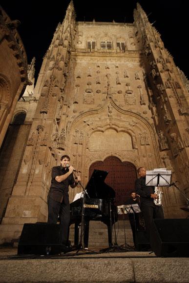 Jazz en las calles de Salamanca