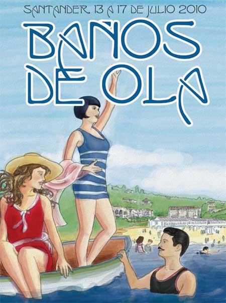Baños de Ola en Santander