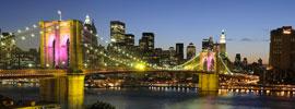 Cae la noche sobre Manhattan