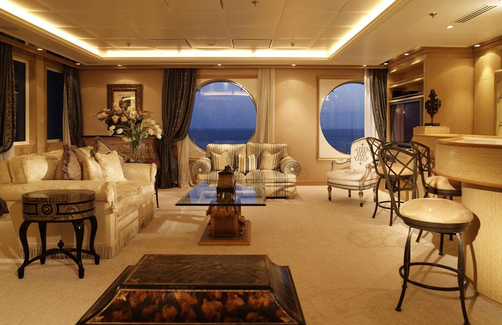 El barco de los millonarios for El mundo decoracion