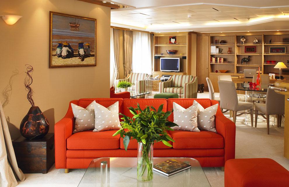 El barco de los millonarios for Decoracion barcos interiores