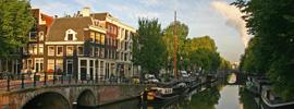 Amsterdam, una ciudad muy navegable