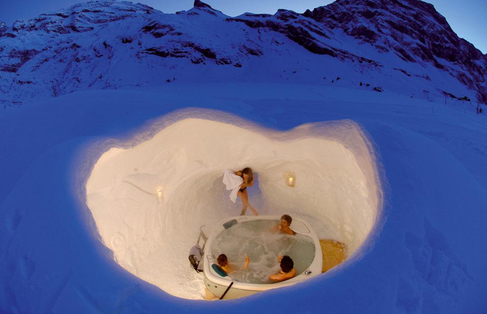 hoteles en la nieve: