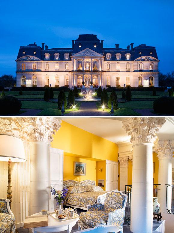 Duerme en un castillo a orillas del Loira