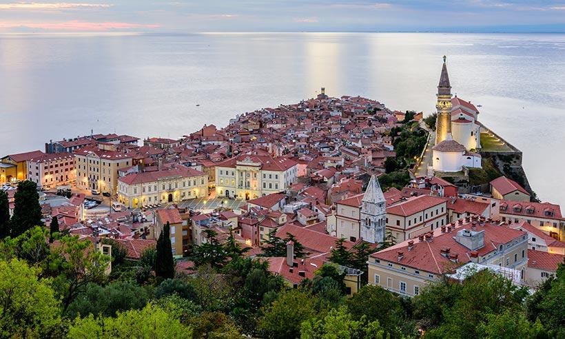 Piran, la ciudad más bonita de la costa eslovena parece Venecia