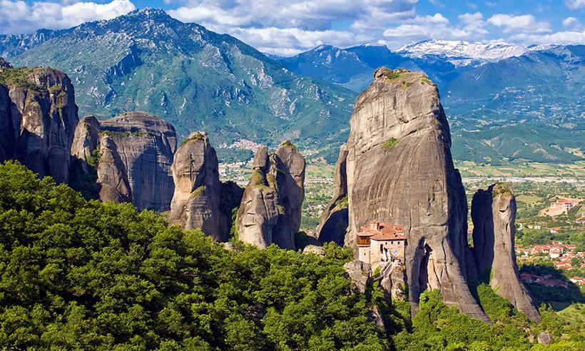 Cómo descubrir los monasterios colgados de Meteora o un viaje a las alturas en Grecia
