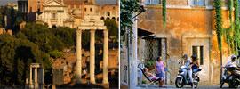 Roma en motorino, ¿por qué no?