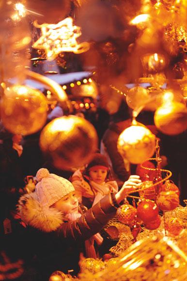 De mercadillos navideños por Viena