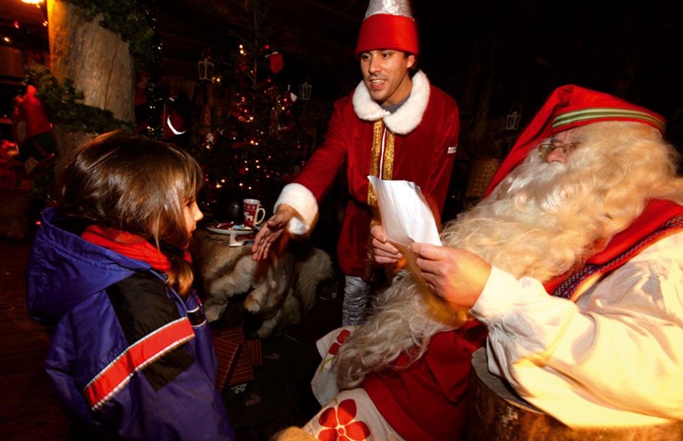De Santa El Una Claus Pueblo En Navidad 4A35jqRL