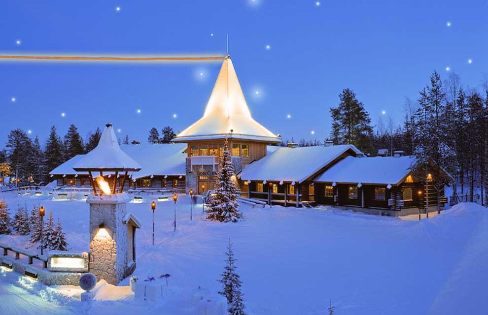Una Navidad en el pueblo de Santa Claus