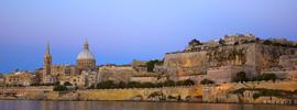 Malta, un refugio para Angelina y Brad Pitt