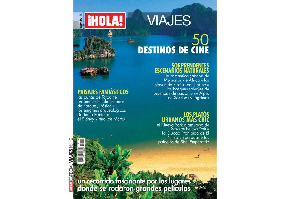 50 destinos de cine en el número de Viajes