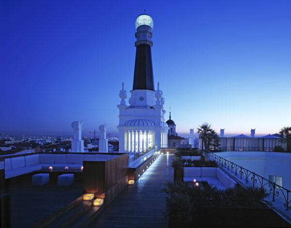 Las terrazas m s exclusivas del verano for Terrazas nocturnas madrid