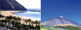 Sol, playa y lava… en Tenerife