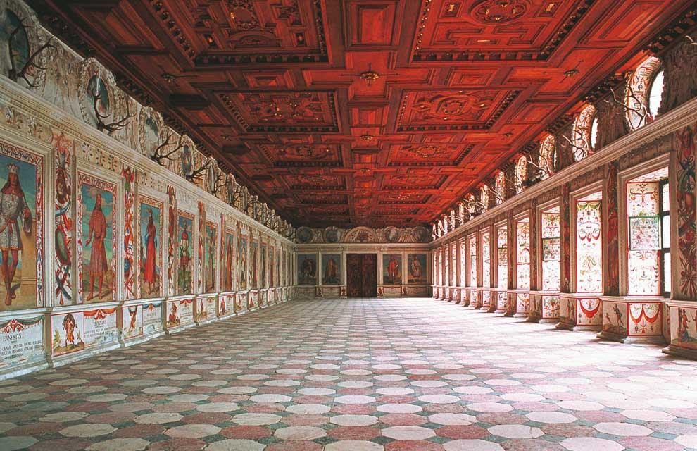 Palacios y castillos de austria - Salones antiguos ...