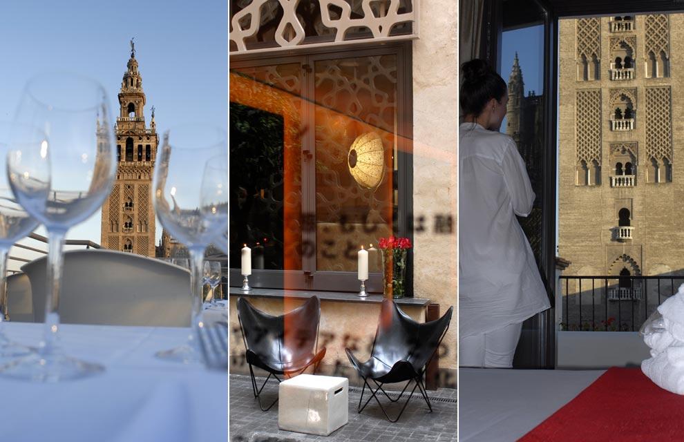 Hoteles peculiares del mundo - Terraza hotel eme ...
