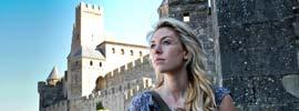 Carcassonne, una ciudad de película