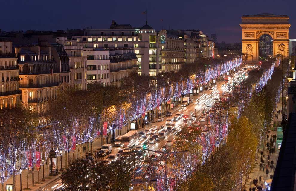 ¡Cómo brilla París!