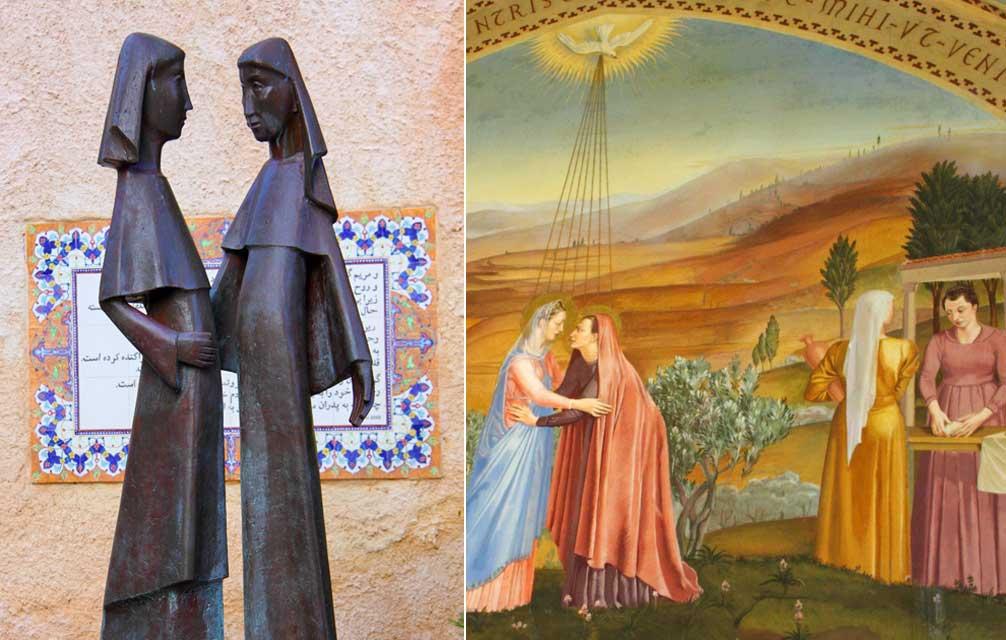 Resultado de imagen de fotos más famosas de la Virgen en Belén, tierra santa